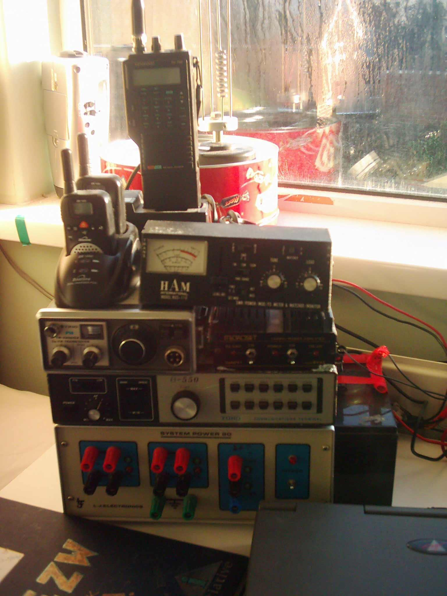 View topic - Solar powered amateur radio shack - BetaArchive