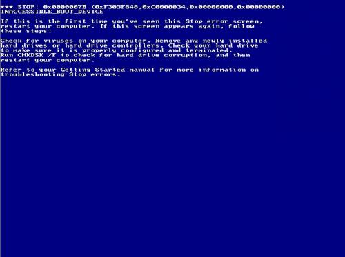 View topic - Whistler 2202 INACCESSIBLE_BOOT_DEVICE error ...