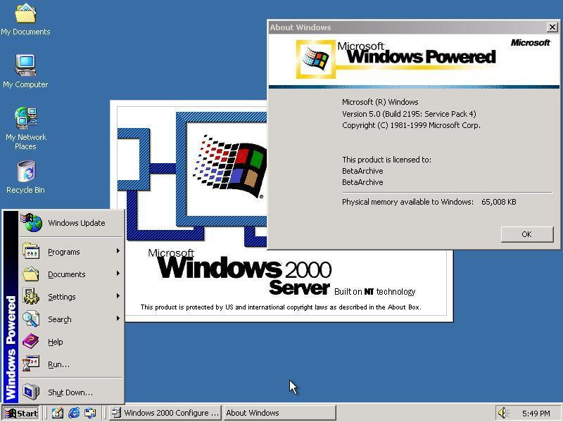 view topic windows 2000 powered for nas server betaarchive