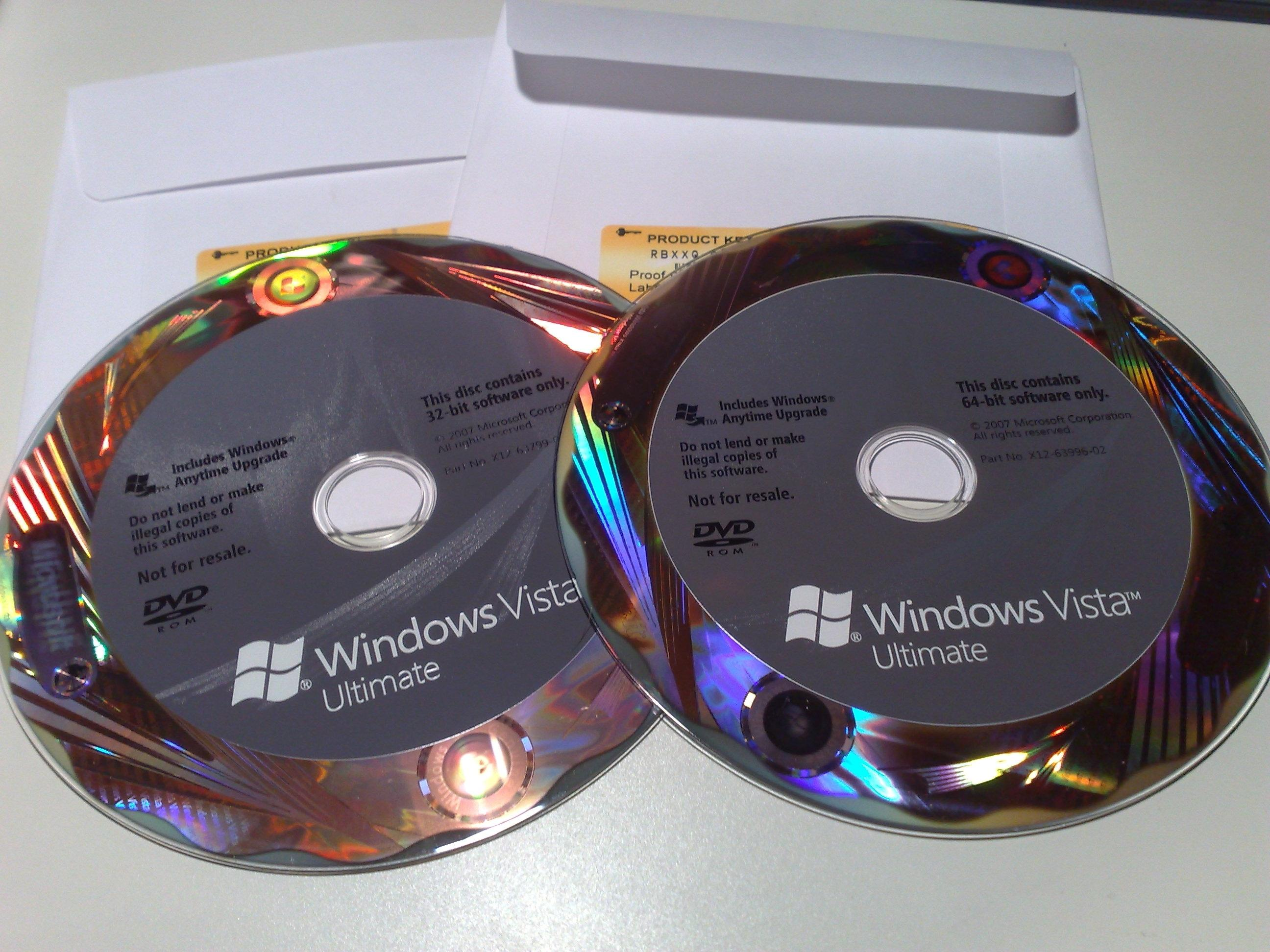 windows vista ultimate product key list
