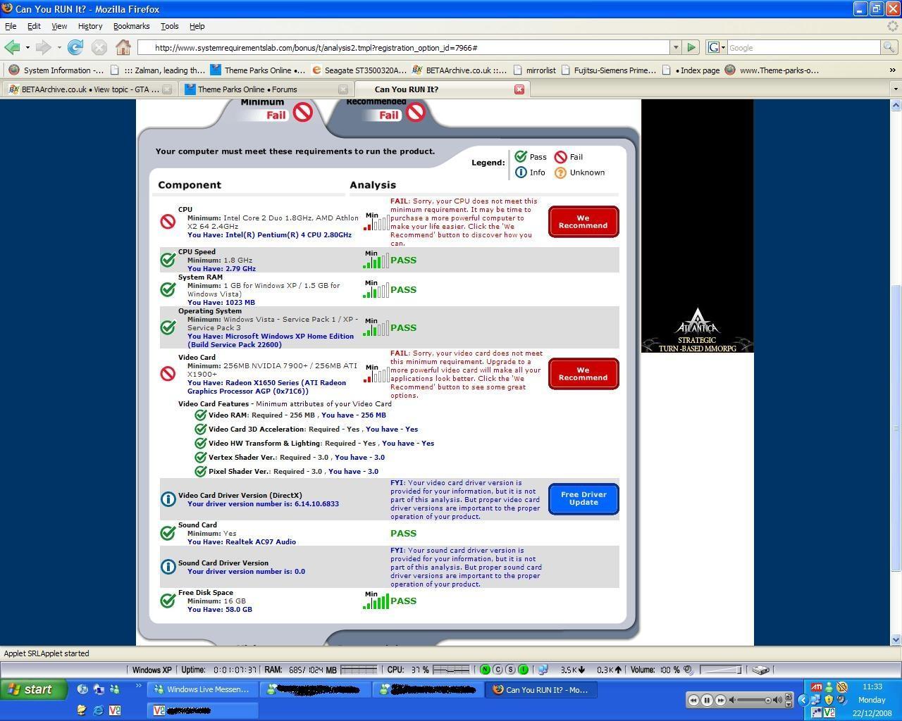 View topic - GTA 4 Minimum Requirements - BetaArchive