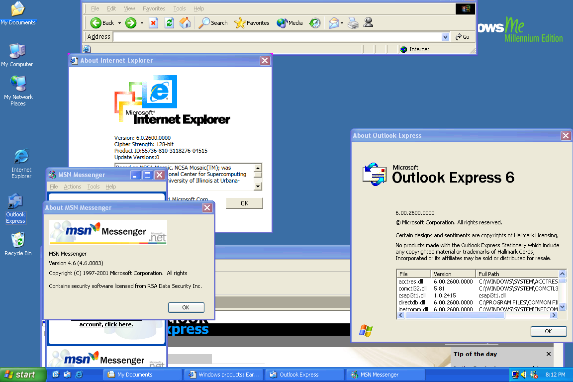 windows 2000 security software prerequisite pack