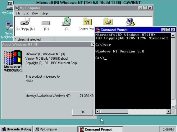 view topic windows nt5 build 1386 betaarchive