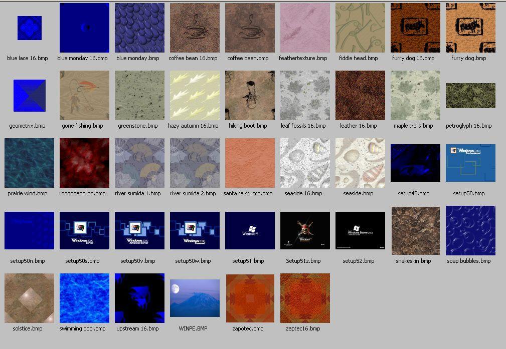 Windows bitmap files