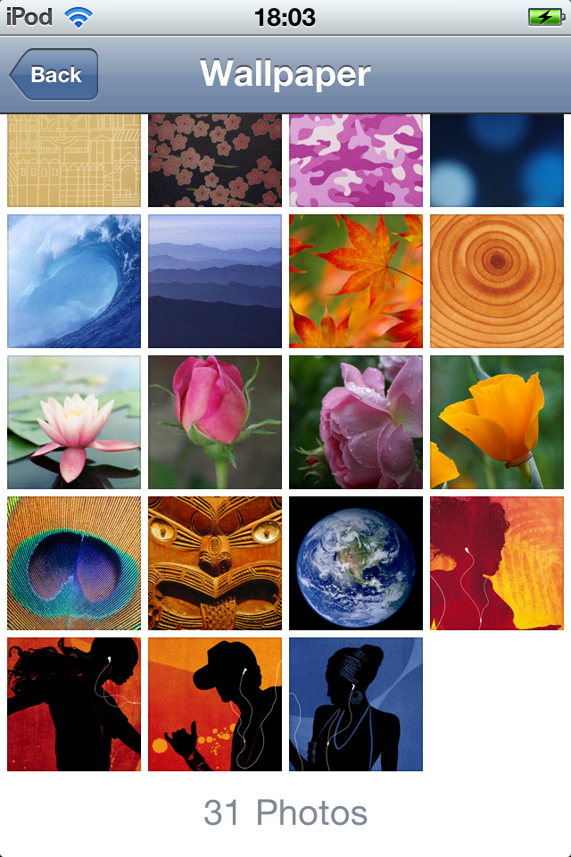 ipod touch 4g wallpapers. in the 4.1 iPod Touch 4G: