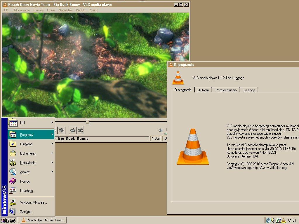 vlc for windows 98