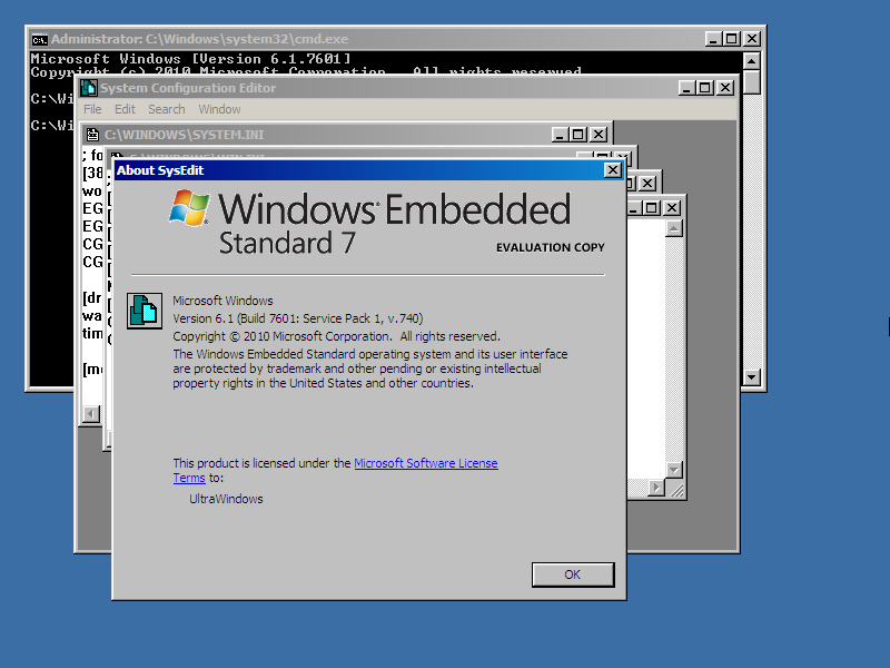 unneybac - Windows embedded standard 7 product activation