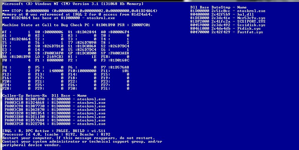 ntoskrnl.exe  windows nt server