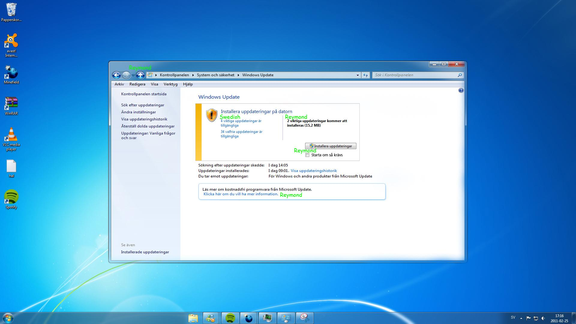how to use fake update on windows