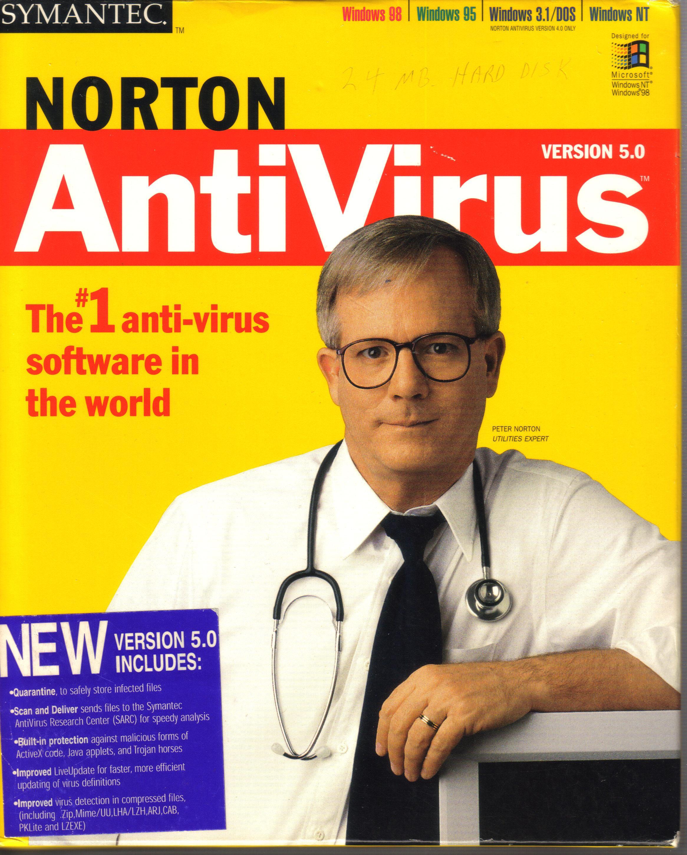 View topic request norton antivirus 4 0 betaarchive for The norton