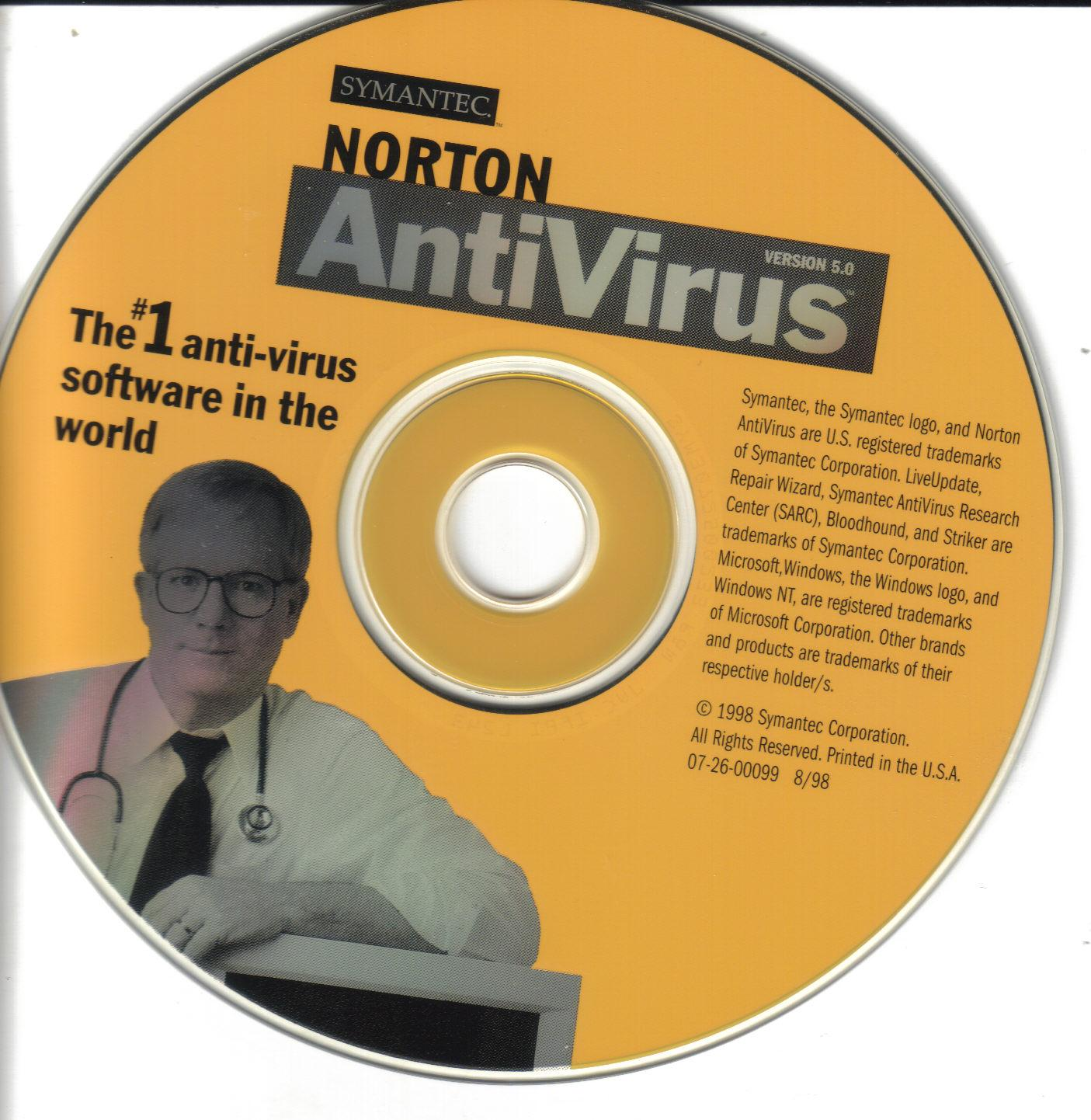 Norton Bootable Recovery Disk