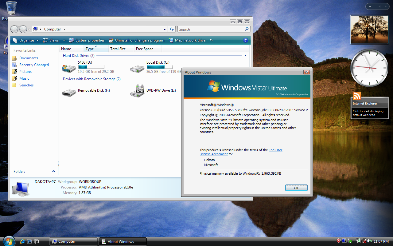 Problem opening .zip files on Windows Vista. - Microsoft Community