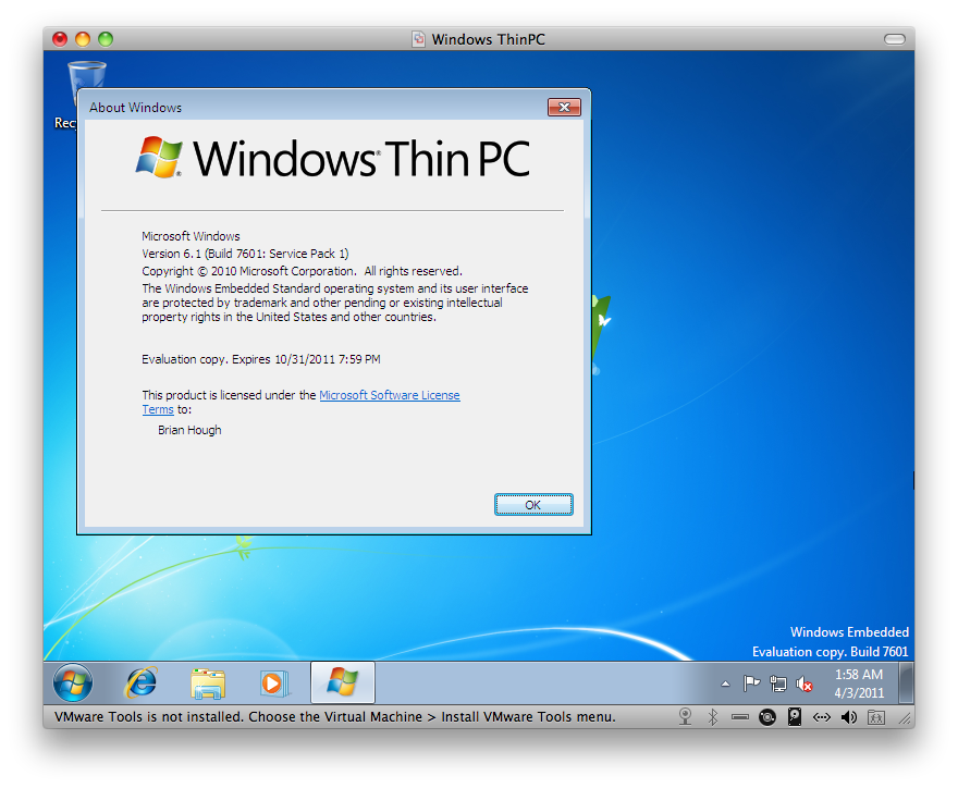View topic - Windows Thin PC CTP Tour - BetaArchive