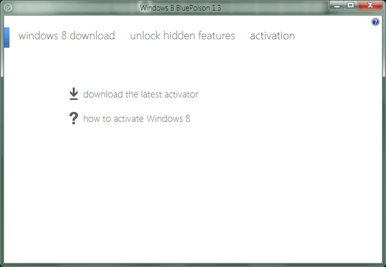 Windows 8 bluepoison 2. 1   software downloads   techworld.