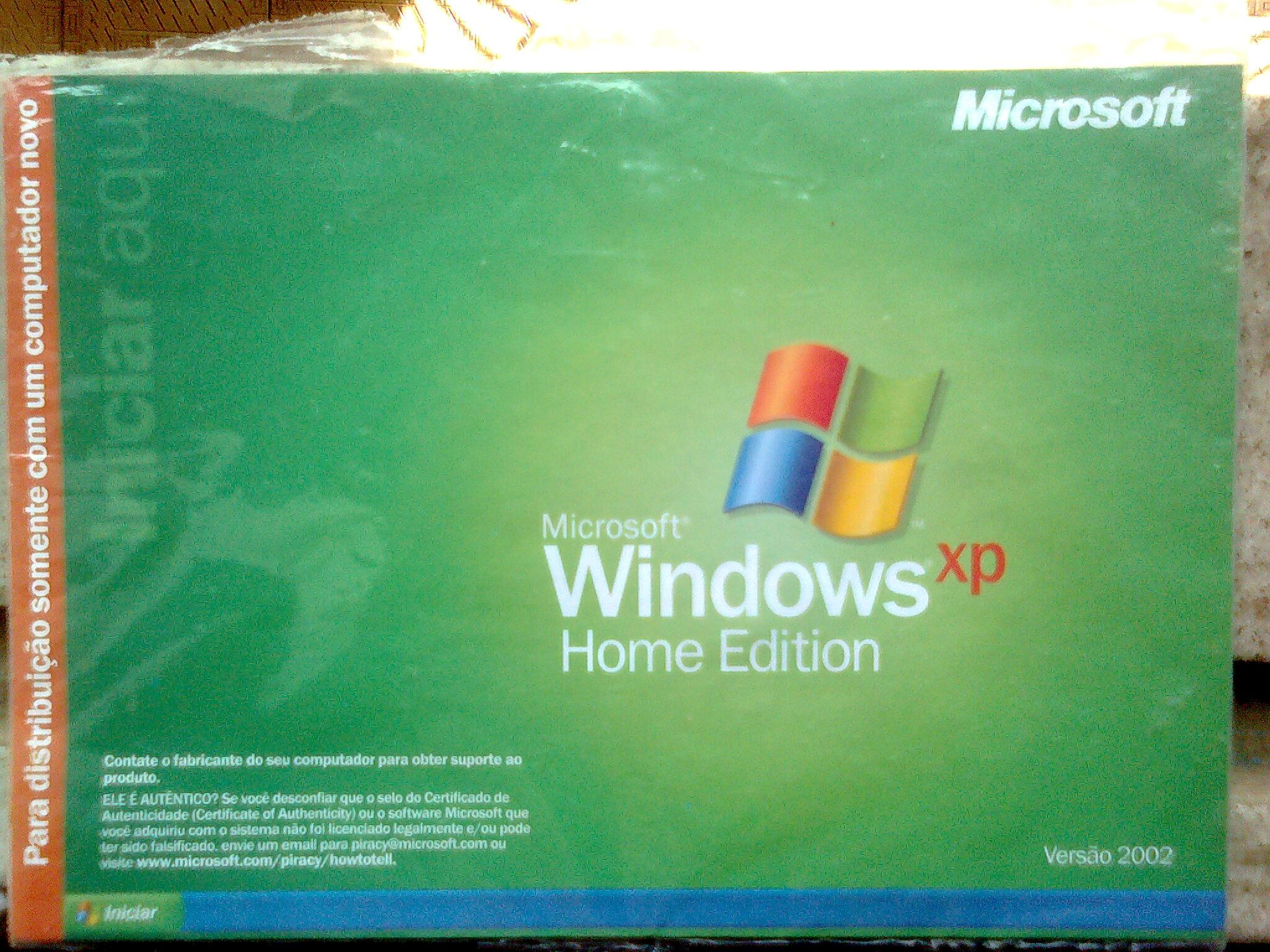 Windows XP Home Edition Start Here Manual (pt-BR) .