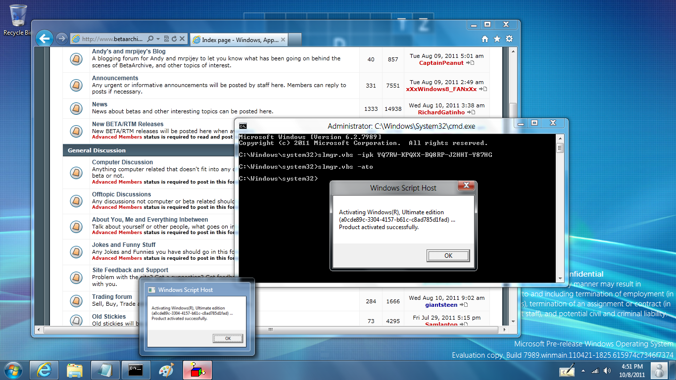 Windows 7 not genuine fix build Solved - Windows 7 Help Forums