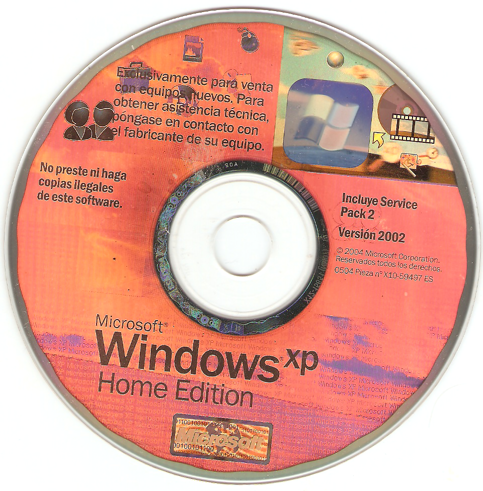 Buy microsoft windows xp home with sp2 download for windows.