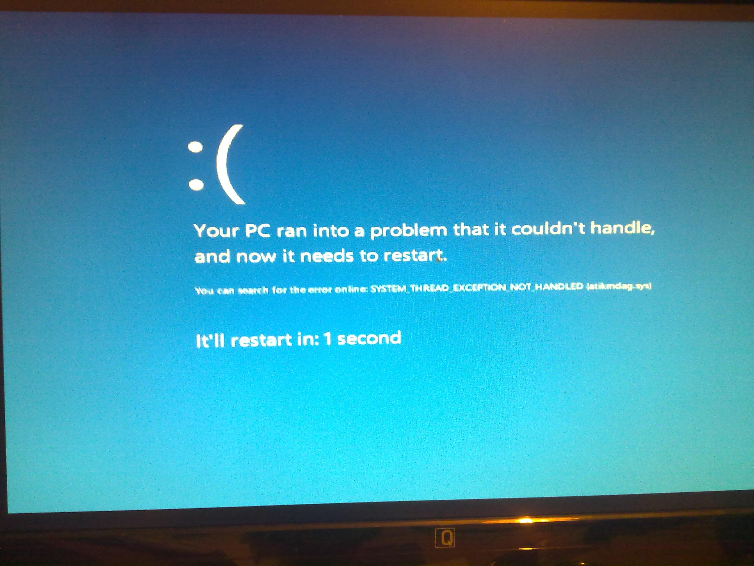 Or Bsod After Graphics Card Install