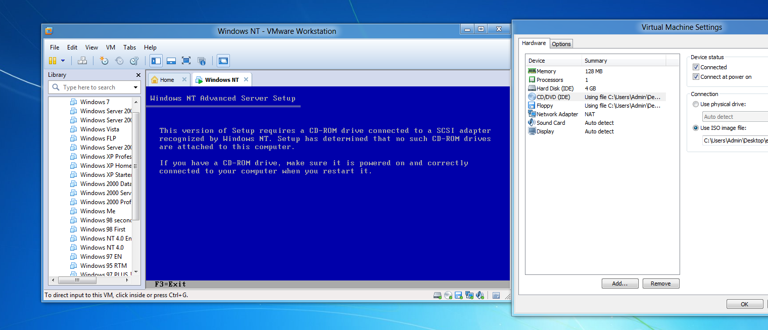 windows nt 3 1 installateur