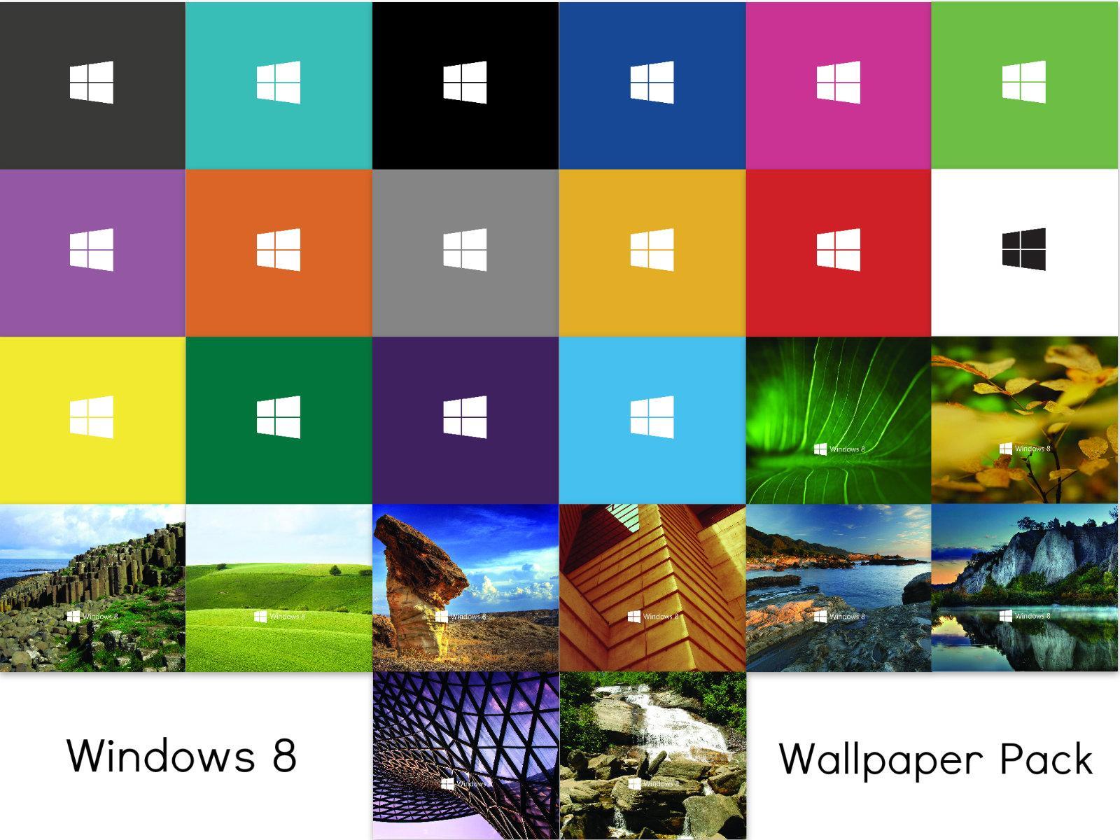 Windows 10 Wallpaper Pack: Windows 8 Photoshop Wallpapers (Updated