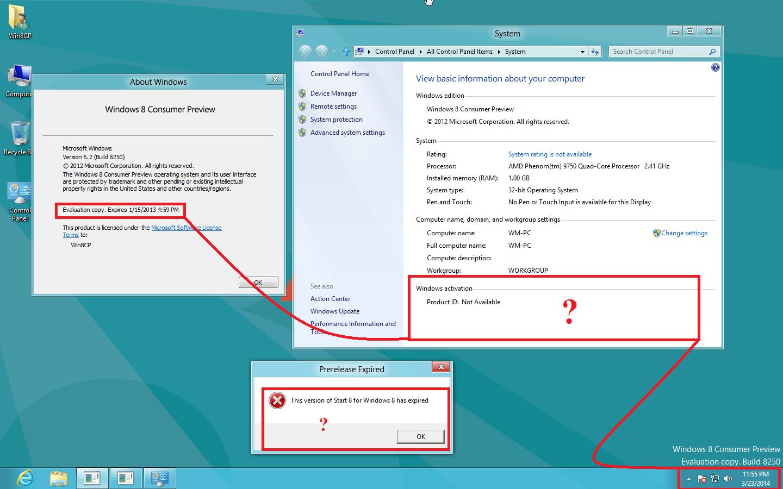 Windows 8 Enterprise Evaluation Build 9200 Activation Key
