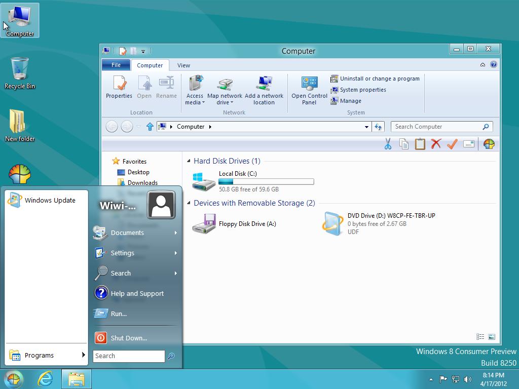 View topic - Start Menu from XP, Vista, W7 (Classic Shell
