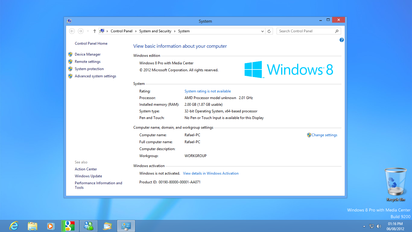 View topic leak windows 8 pro rtm betaarchive for Windows windows