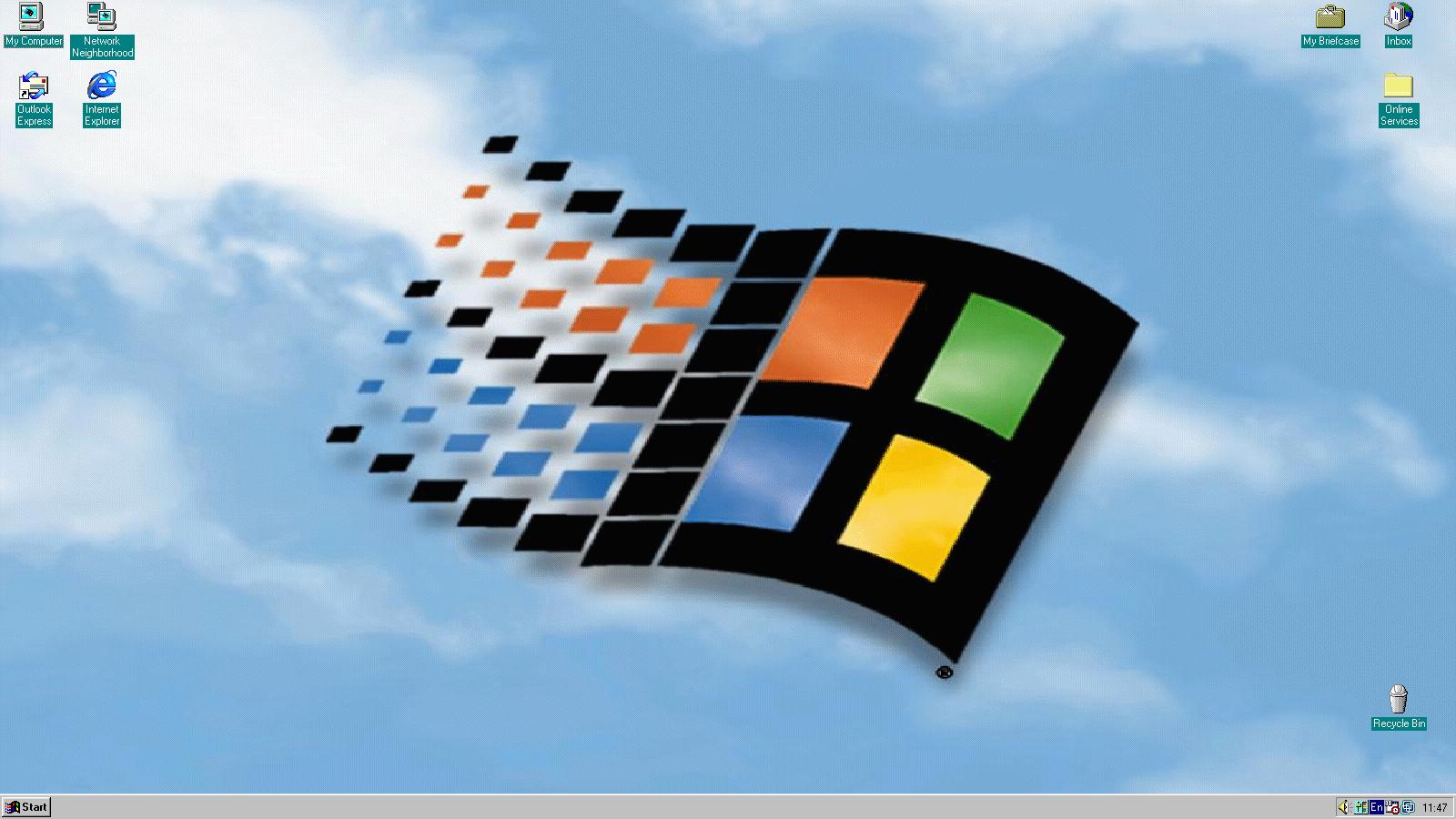 windows 95 desktop images