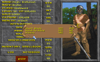 Early TES: Daggerfall demo - BetaArchive