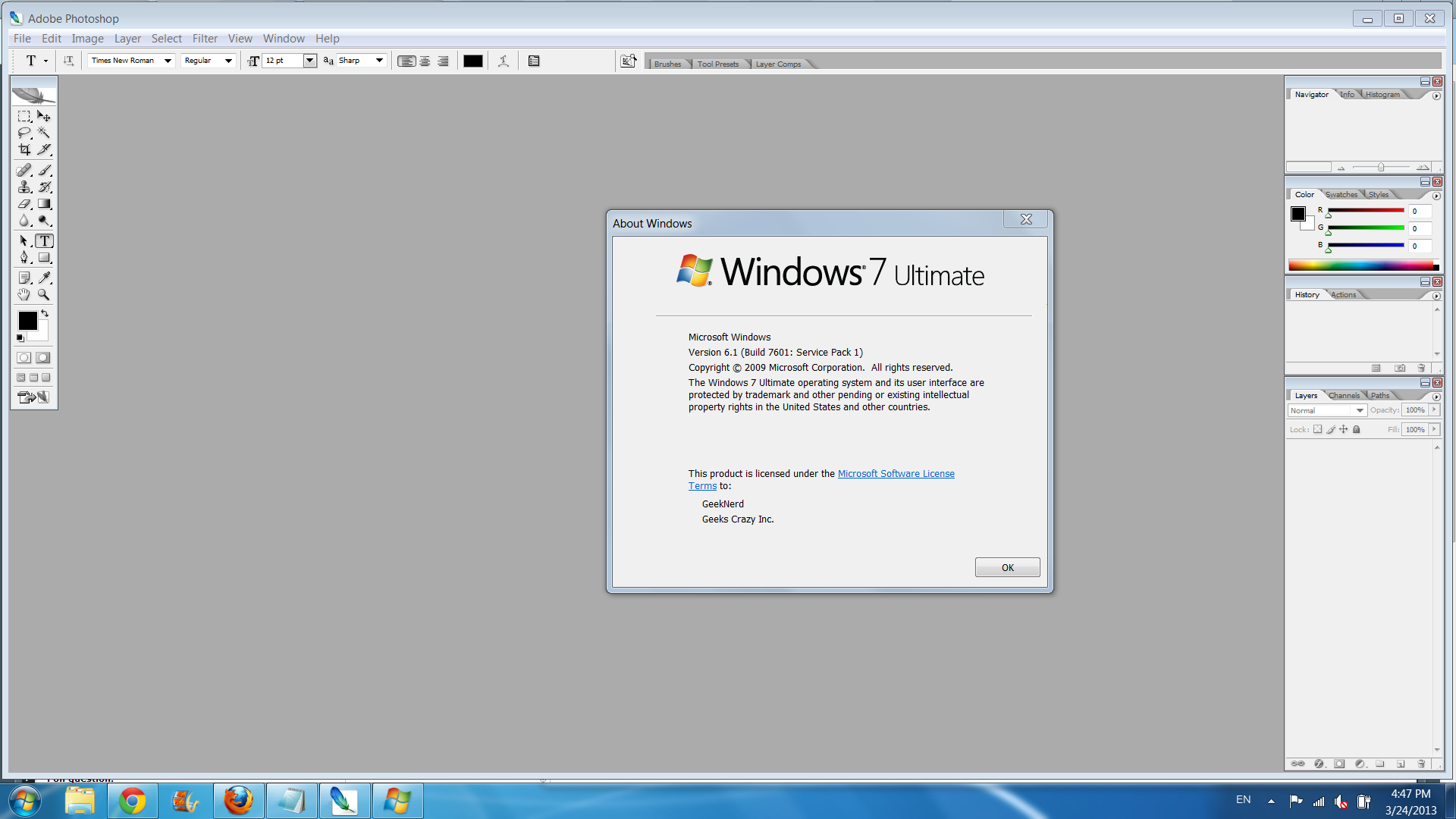 photoshop cs2 windows 7