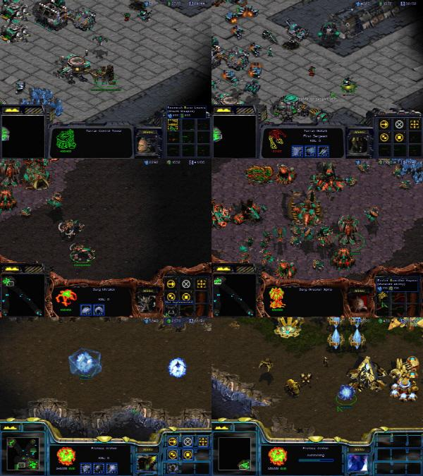 how to delete building starcraft 1