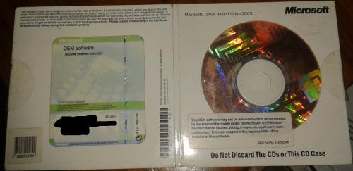 MS Office 2003 Basic (OEM) .