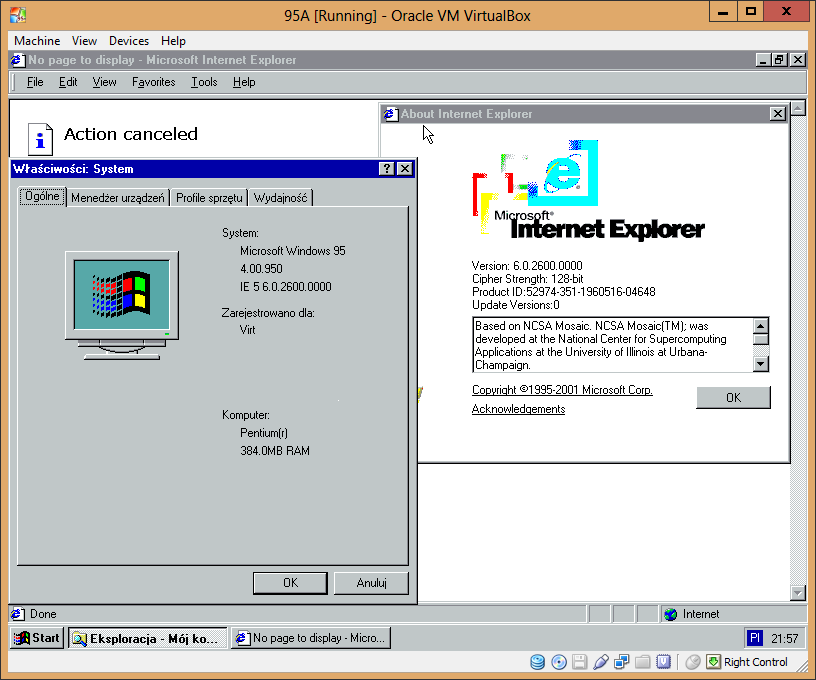 View topic - How to Install Internet Explorer 6 on Windows 95