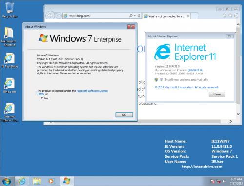 download internet explorer 11 for windows 7 64 bit sp2