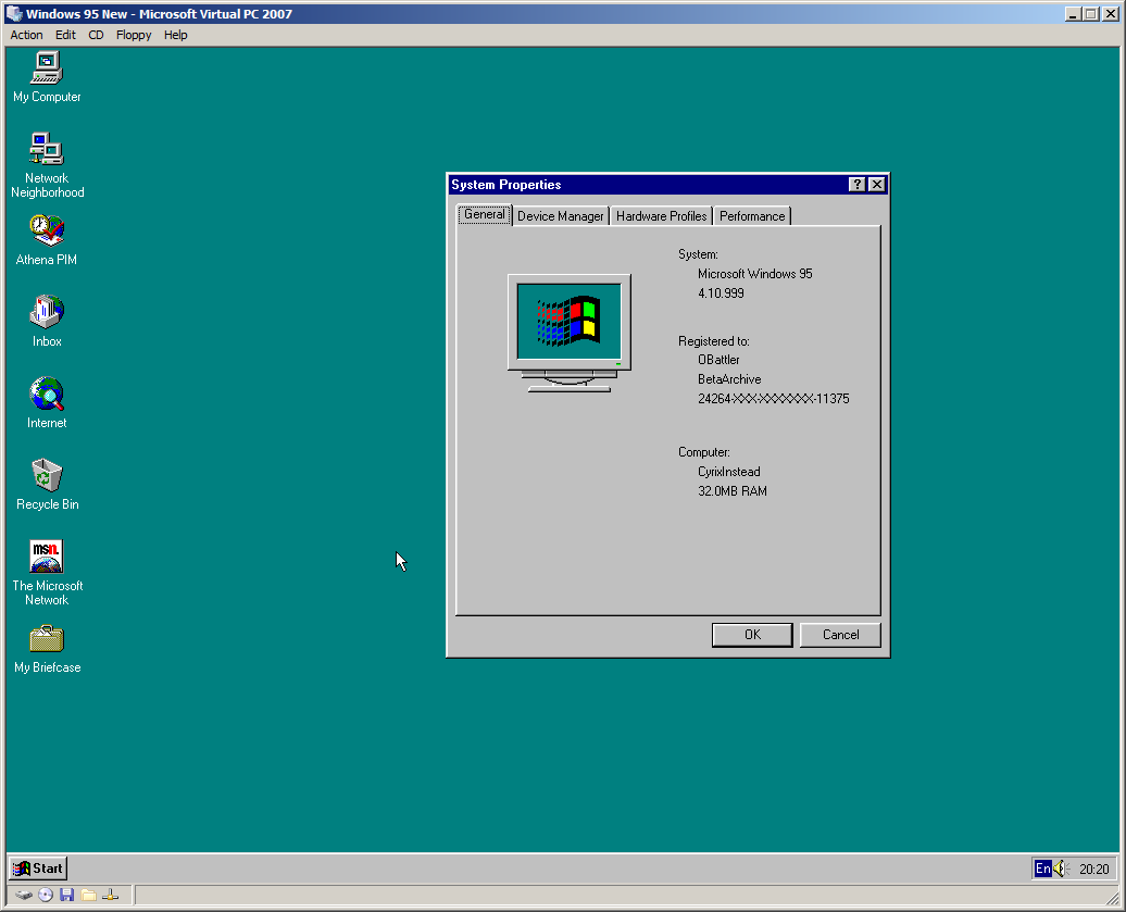 View topic - Fixing The CPU Speed Limit in Windows 95, 98 and their