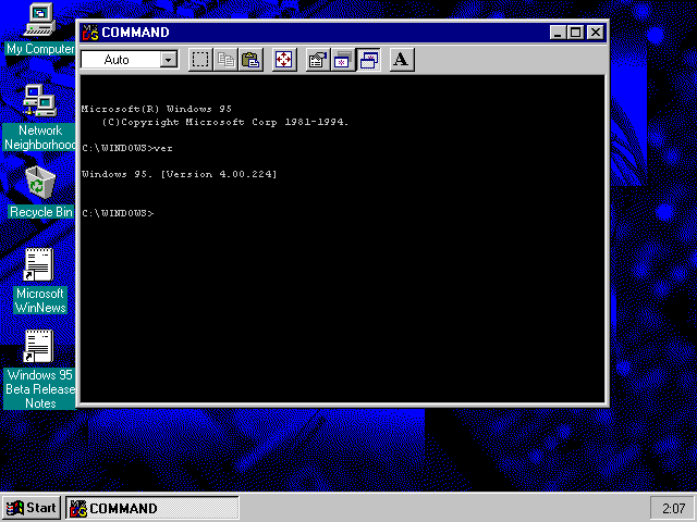 ms dos commands view topic purpose of ms dos in windows 95 betaarchive