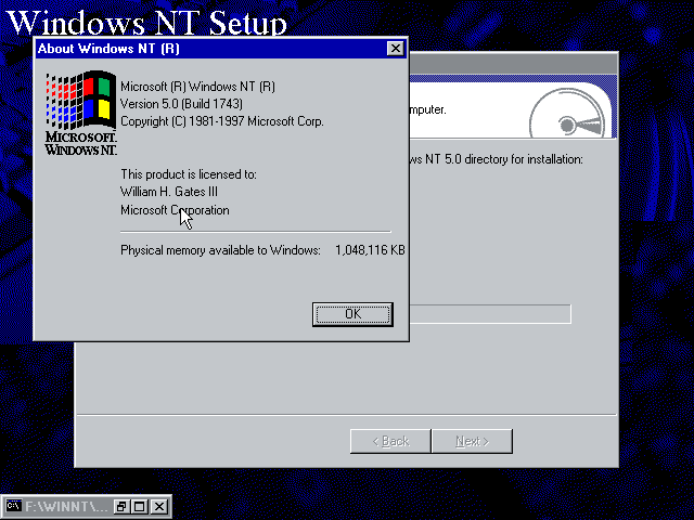 view topic little discovery in windows nt 5 0 build 1743 betaarchive