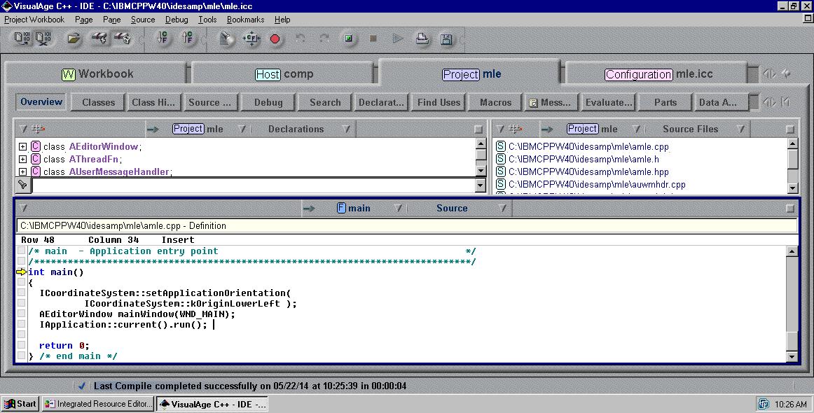 View topic - IBM Visual Age C+...