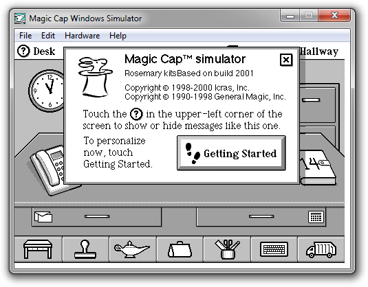 View topic - [REQUEST] Magic Cap for Windows - BetaArchive