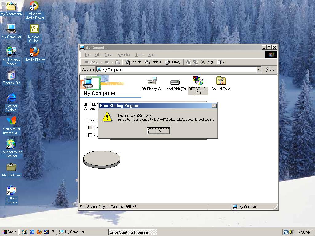 office 2003 windows 10