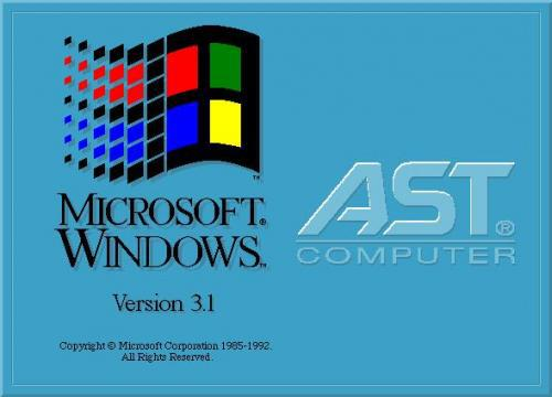 Does Anyone Have Windows 31 AST OEM In English Not Danish