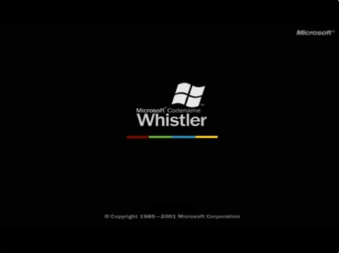 View topic windows whistler boot screen real betaarchive for Windows 95 startup sound