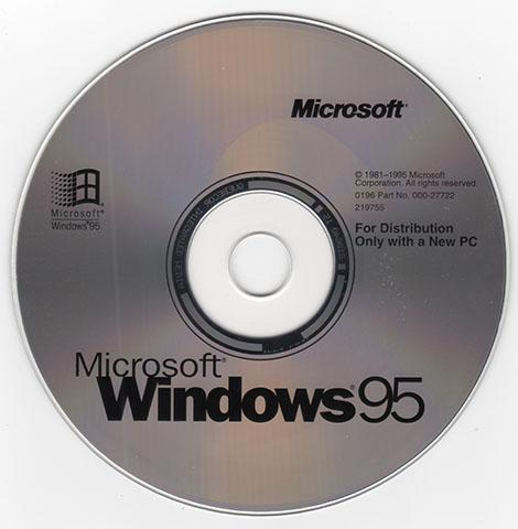 View topic offer windows 95 osr1 1996 05 for Windows 95 iso