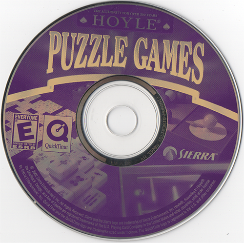 View topic - Hoyle Puzzle Games 2003 Disc - BetaArchive