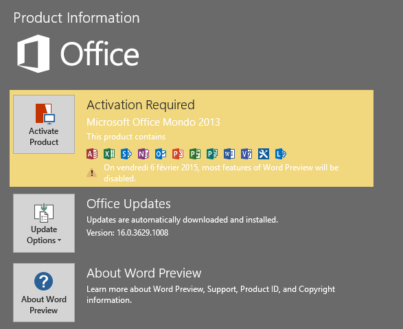 View topic office 16 build 16 betaarchive for Mondo office
