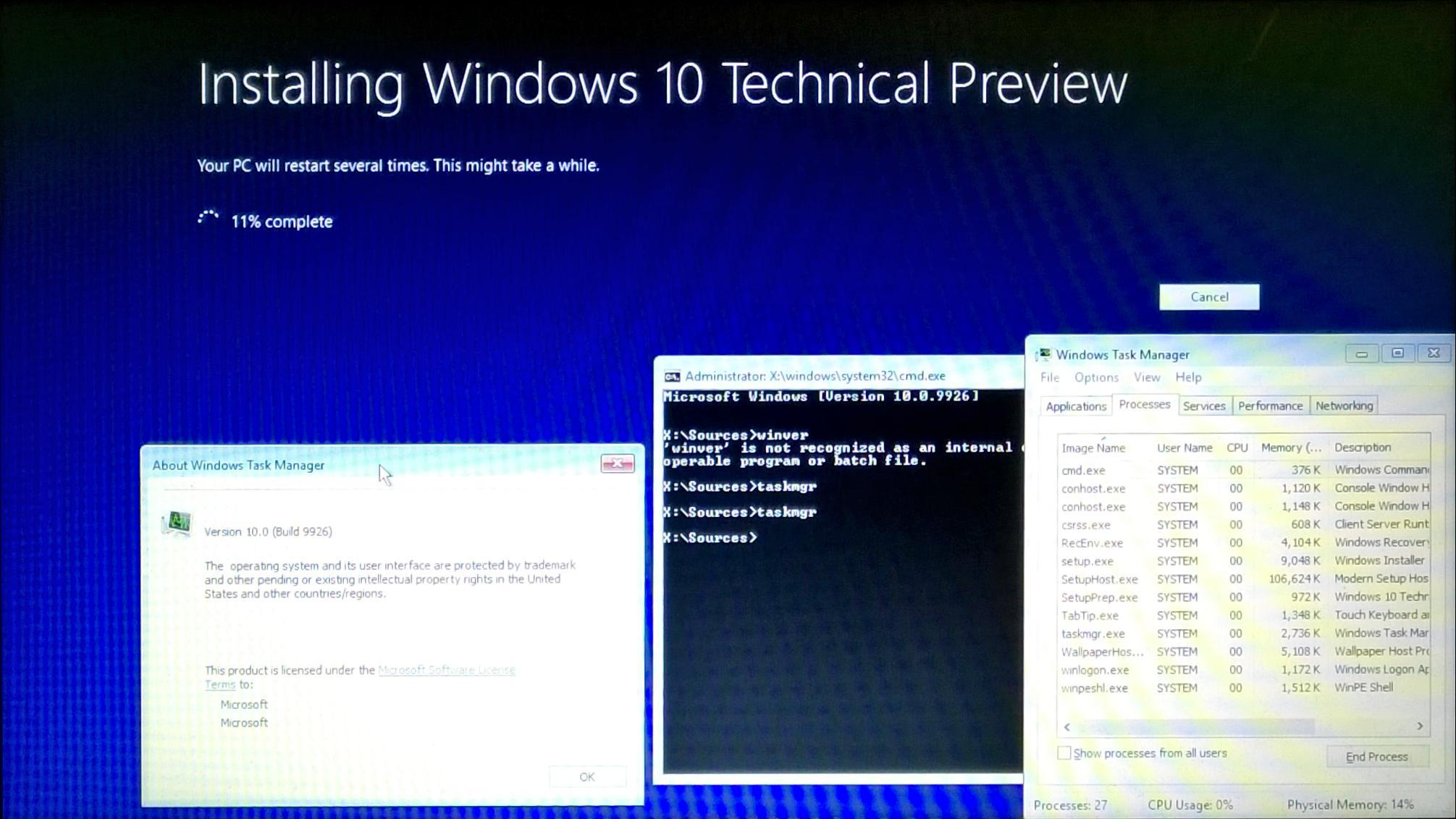 View topic - The begining of Windows 10 Revamped Setup in 9926