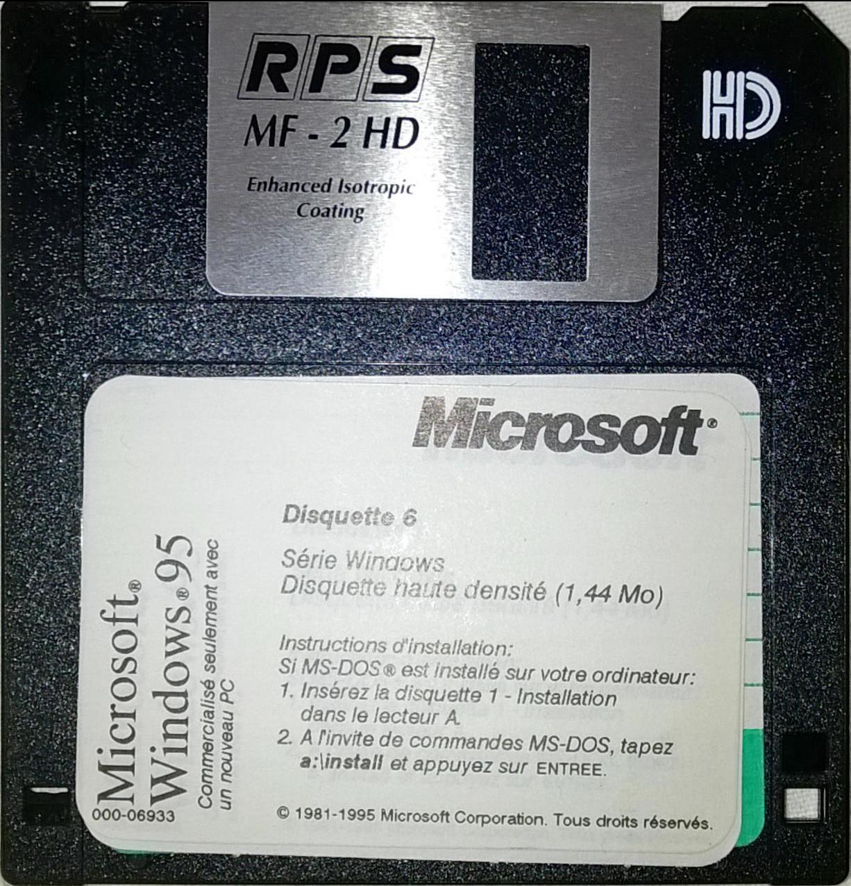 windows 95 boot disk install