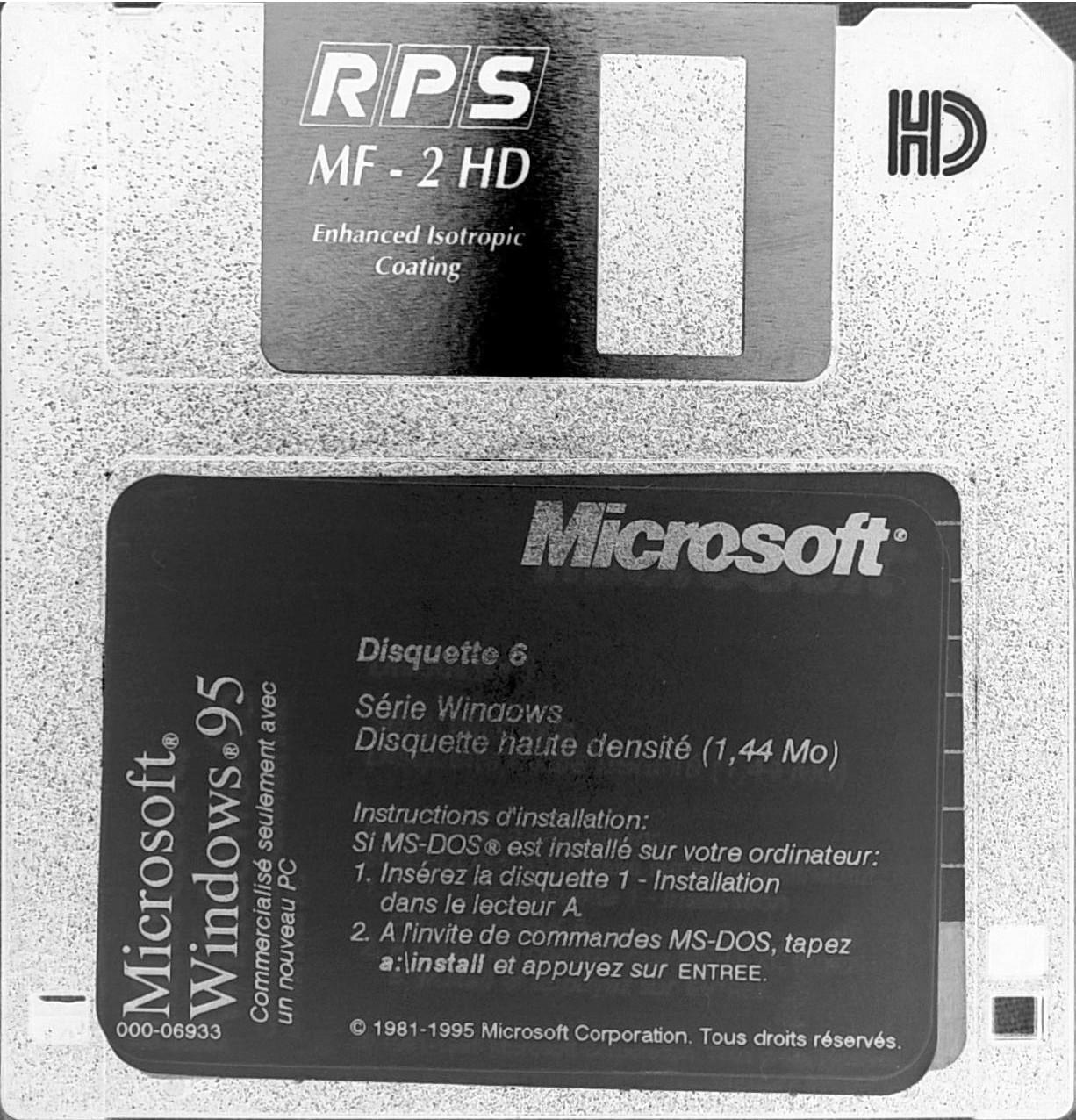 View topic - [Offer/Ref/Rare] The Original Windows 95 30 floppy