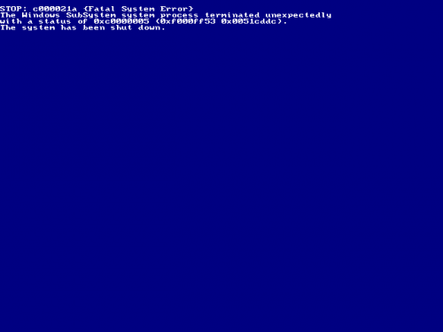 View Topic Windows Whistler Build 24xx Bsod When