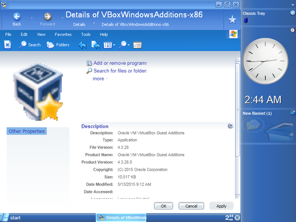 View topic - Can't use Virtualbox VM Additions on Windows